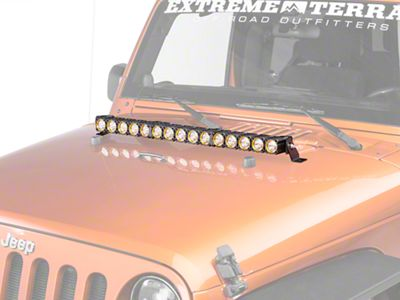 KC HiLiTES 30 in. Flex Array LED Light Bar - Spot/Spread Combo