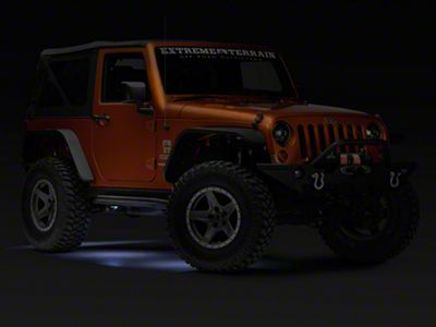 KC HiLiTES 6-Piece Cyclone LED Light Kit - Clear (07-18 Jeep Wrangler JK; 2018 Jeep Wrangler JL)