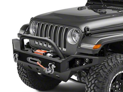 Barricade Trail Force HD Full Width Bumper w/ LED Lights (2018 Jeep Wrangler JL)