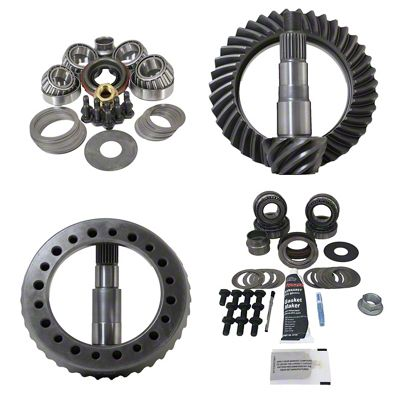 Revolution Gear & Axle Dana 30F/44R Ring Gear and Pinion Kit w/ Master Overhaul Kit - 4.88 Gears (07-18 Jeep Wrangler JK, Excluding Rubicon)