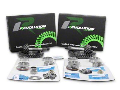 Revolution Gear & Axle Dana 44F/44R Ring Gear and Pinion Kit w/ Master Overhaul Kit - 4.11 Gears (07-18 Jeep Wrangler JK Rubicon)