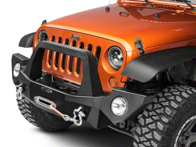 Rock-Slide Engineering Aluminum Rigid Full Bumper w/ Bullbar (07-18 Jeep Wrangler JK)