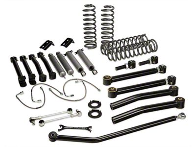 Rough Country 4 in. X-Series Lift Kit w/ Shocks (07-18 Jeep Wrangler JK 2 Door)