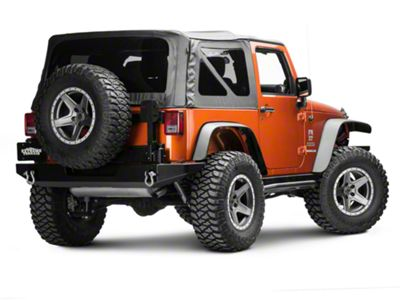 Hyline Offroad Tire Carrier Accessory Mount Arm (07-18 Jeep Wrangler JK)