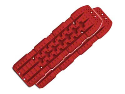 TRED 1100 Traction Boards - Red