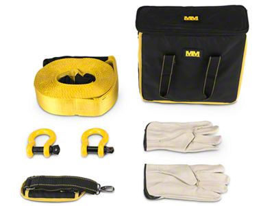 Mean Mother 5 Piece Recovery Kit (87-18 Jeep Wrangler YJ, TJ, JK & JL)