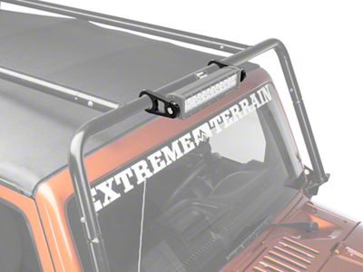 Kargo Master Light Bar Mount Kit For 2 in. Diameter Tube (07-18 Jeep Wrangler JK)