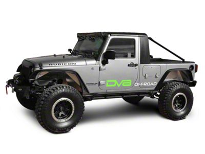 DV8 Off-Road Truck Conversion (07-18 Jeep Wrangler JK 4 Door)
