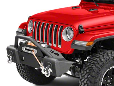 DV8 Off-Road FS-13 Hammer Forged Stubby Front Bumper w/ Fog Light Provisions (18-19 Jeep Wrangler JL)