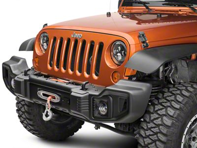 Rugged Ridge Spartacus Front Bumper Kit w/ Winch Plate (07-18 Jeep Wrangler JK)