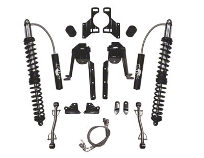 SkyJacker 3.5-4.5 in. LeDuc Series Rear Coilover Suspension Lift Kit (07-18 Jeep Wrangler JK)