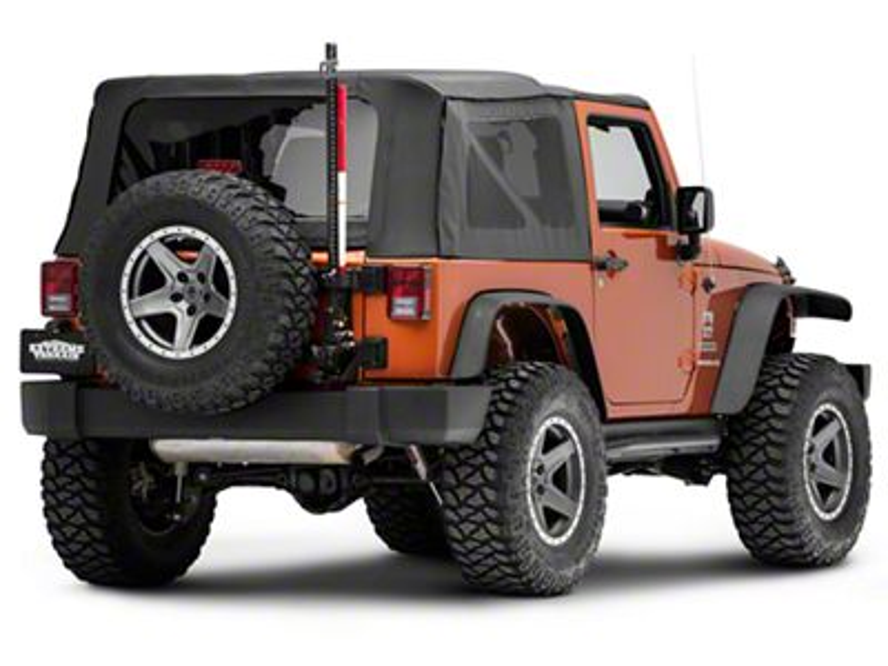 Rugged Ridge Off-Road Jack Mounting Bracket Kit (07-18 Jeep Wrangler JK)