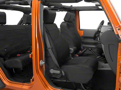 Rugged Ridge Ballistic Seat Cover (07-10 Jeep Wrangler JK)