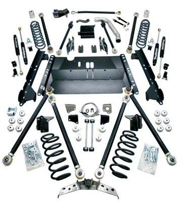 Teraflex 5 in. Pro LCG Suspension System w/ Shocks (04-06 Jeep Wrangler TJ Unlimited)