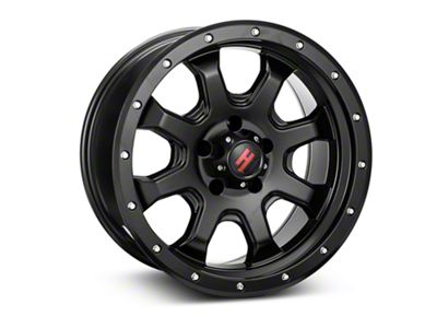 Havok Off-Road H-105 Matte Black Wheel - 18x9 (18-19 Jeep Wrangler JL)