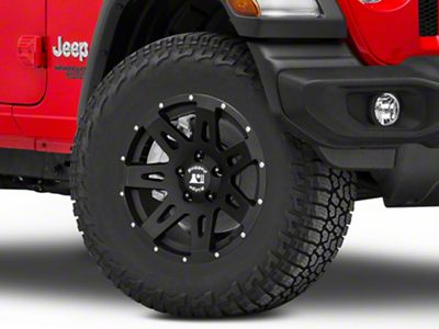Rugged Ridge XHD Satin Black Wheel - 17x8.5 (18-19 Jeep Wrangler JL)