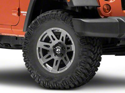Rugged Ridge XHD Gun Metal Gray Wheel - 17x8.5 (07-18 Jeep Wrangler JK)