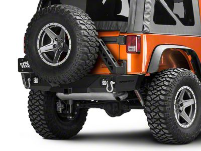 Snyper Recoil Rear Bumper w/ Tire Carrier (07-18 Jeep Wrangler JK)