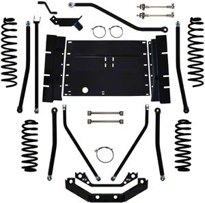Rock Krawler 5.5 in. X Factor Plus Long Arm System w/o Shocks (97-02 Jeep Wrangler TJ)