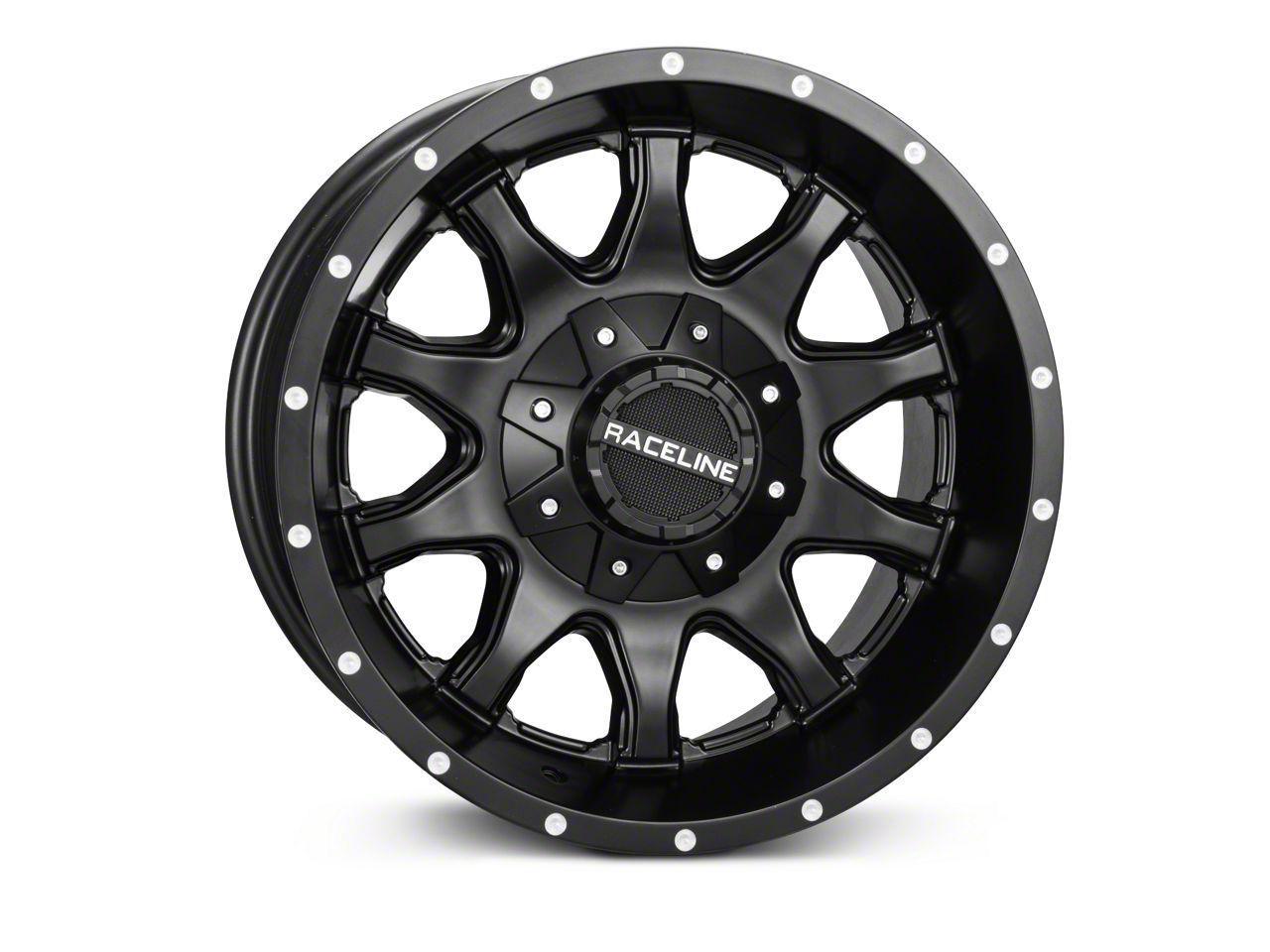 Raceline Shift Black Wheel - 17x9 (07-18 Jeep Wrangler JK)