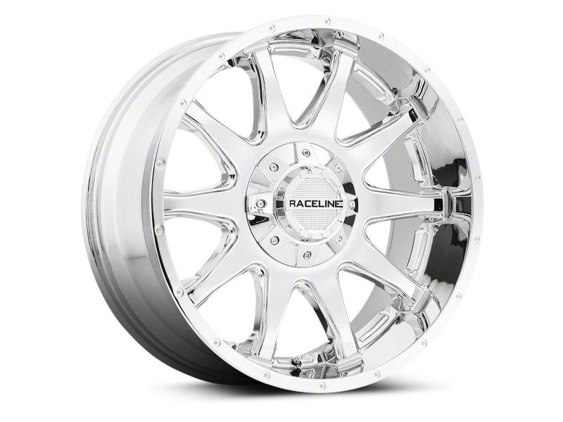 Raceline Shift Chrome Wheel - 18x9 (07-18 Jeep Wrangler JK)