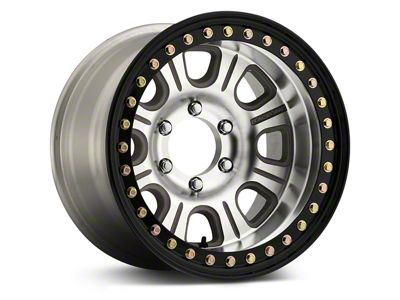 Raceline ST Monster Beadlock Machined & Black Wheel - 17x9.5 (18-19 Jeep Wrangler JL)