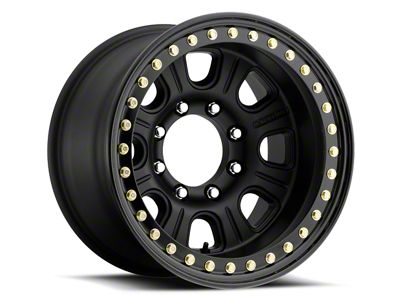Raceline ST Avenger Beadlock Machined & Black Wheel - 17x7.5 (18-19 Jeep Wrangler JL)