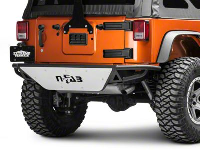N-Fab RBS Rear Bumper - Textured Black (07-18 Jeep Wrangler JK)