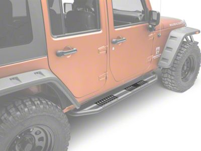 Rugged Ridge RRC Side Armor Guard Plates (07-18 Jeep Wrangler JK 4 Door)