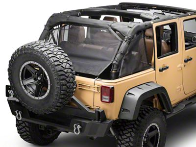 Rugged Ridge Eclipse Cargo Barrier (07-16 Jeep Wrangler JK)
