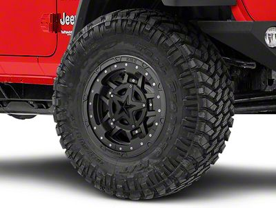Rockstar XD827 RS3 Matte Black Wheel - 17x9 (18-19 Jeep Wrangler JL)