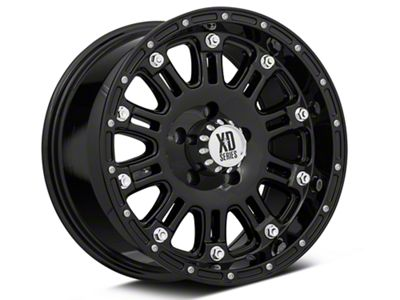 XD Hoss Gloss Black Wheel - 17x9 (07-18 Jeep Wrangler JK; 2018 Jeep Wrangler JL)