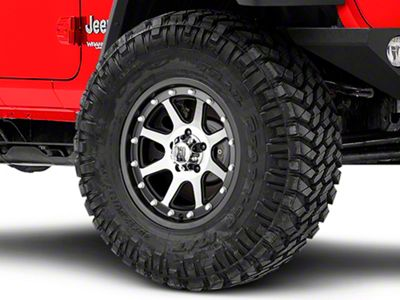 XD Addict Matte Black Machined Wheel - 17x9 (18-19 Jeep Wrangler JL)