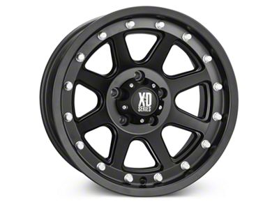 XD Addict Matte Black Wheel - 17x9 (07-18 Jeep Wrangler JK; 2018 Jeep Wrangler JL)