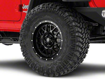 XD Grenade Satin Black Wheel - 17x9 (18-19 Jeep Wrangler JL)