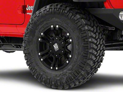 XD Monster II Matte Black Wheel - 17x9 (18-19 Jeep Wrangler JL)
