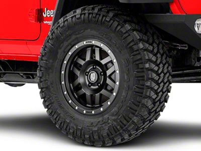 XD Machete Satin Black Wheel - 17x9 (18-19 Jeep Wrangler JL)