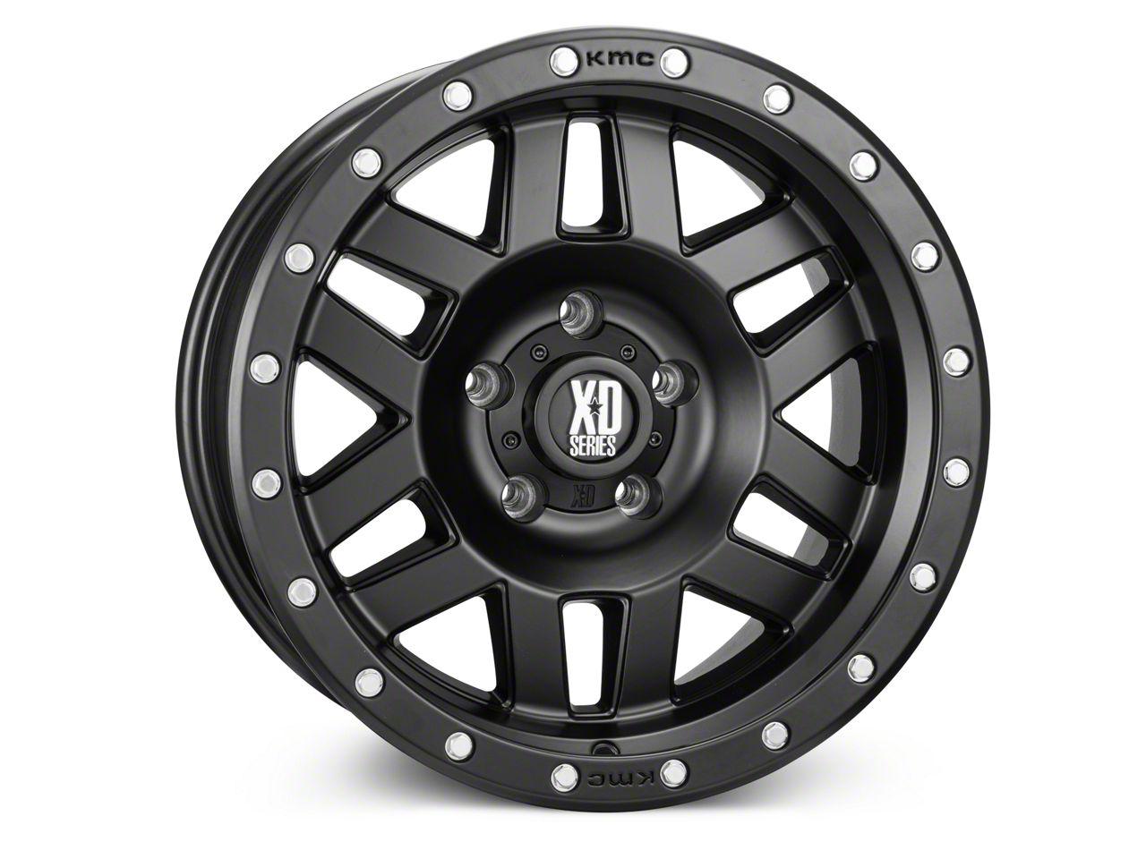 XD Machete Satin Black Wheels (07-18 Jeep Wrangler JK)
