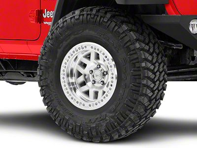 XD Machete Crawl Machined Wheel - 17x9 Wheel (18-19 Jeep Wrangler JL)
