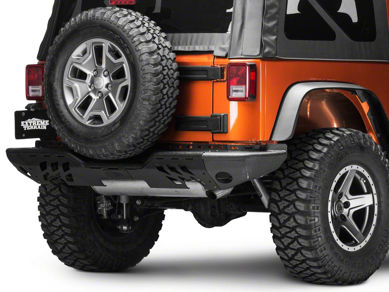 Wild Boar Complete Rear Bumper - Black (07-18 Jeep Wrangler JK)