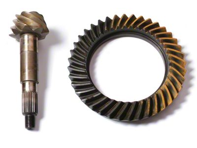 Alloy USA Dana 30F/44R Ring Gear and Pinion Kit - 4.10 Gears (97-06 Jeep Wrangler TJ, Excluding Rubicon)