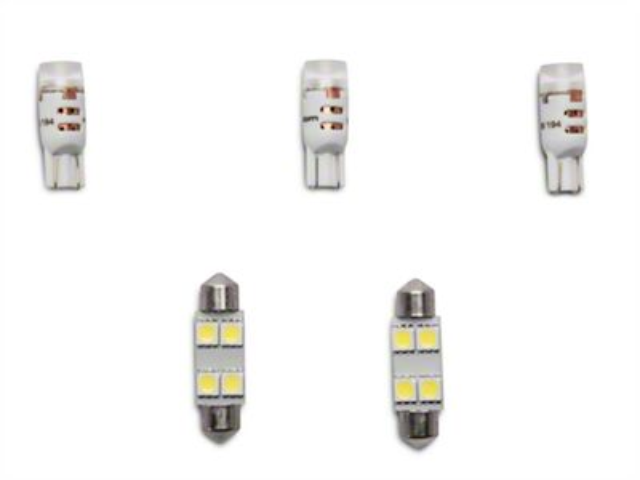 Vividline Interior LED Kit + License Bulb (07-18 Jeep Wrangler JK)