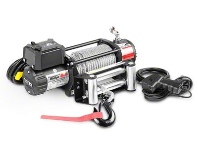 Rugged Ridge Nautic 12,500 lb. Winch w/ Steel Cable (87-19 Jeep Wrangler YJ, TJ, JK & JL)