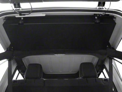 Grenadeacorp Sub-Roof Concealed Locking Storage System (07-18 Jeep Wrangler JK 2 Door)