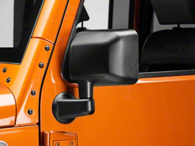 OPR Dual-Axis Replacement Mirror Assembly (07-18 Jeep Wrangler JK)