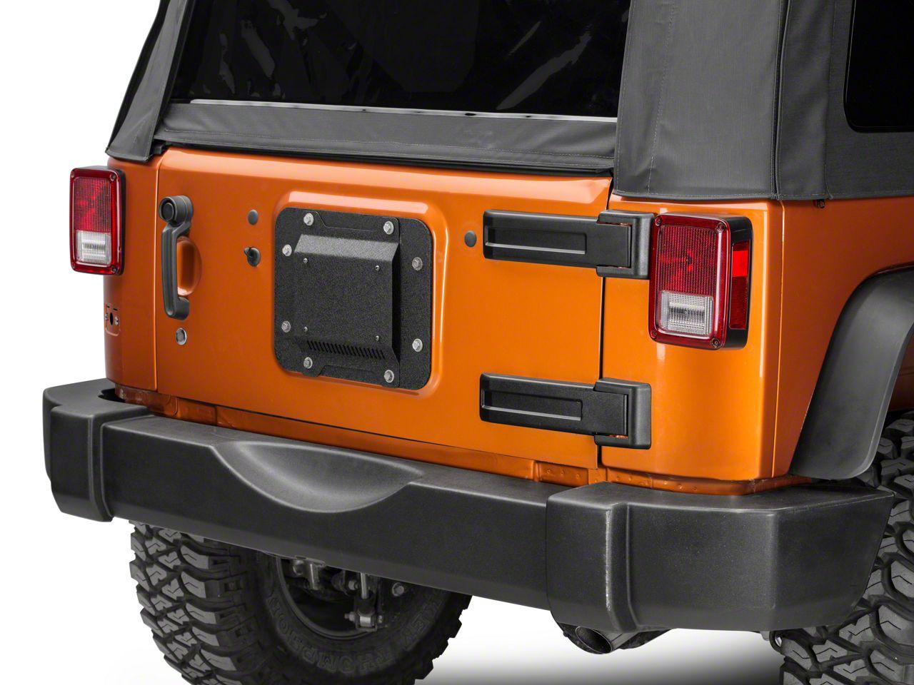 Barricade Spare Tire Delete w/ License Plate Mount (07-18 Jeep Wrangler JK)