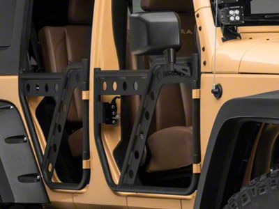 Barricade Extreme HD Adventure Doors - Rear (07-18 Jeep Wrangler JK)
