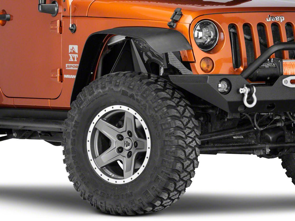 Poison Spyder Front Vented Inner Fenders - SpyderShell Armor Coat (07-18 Jeep Wrangler JK)