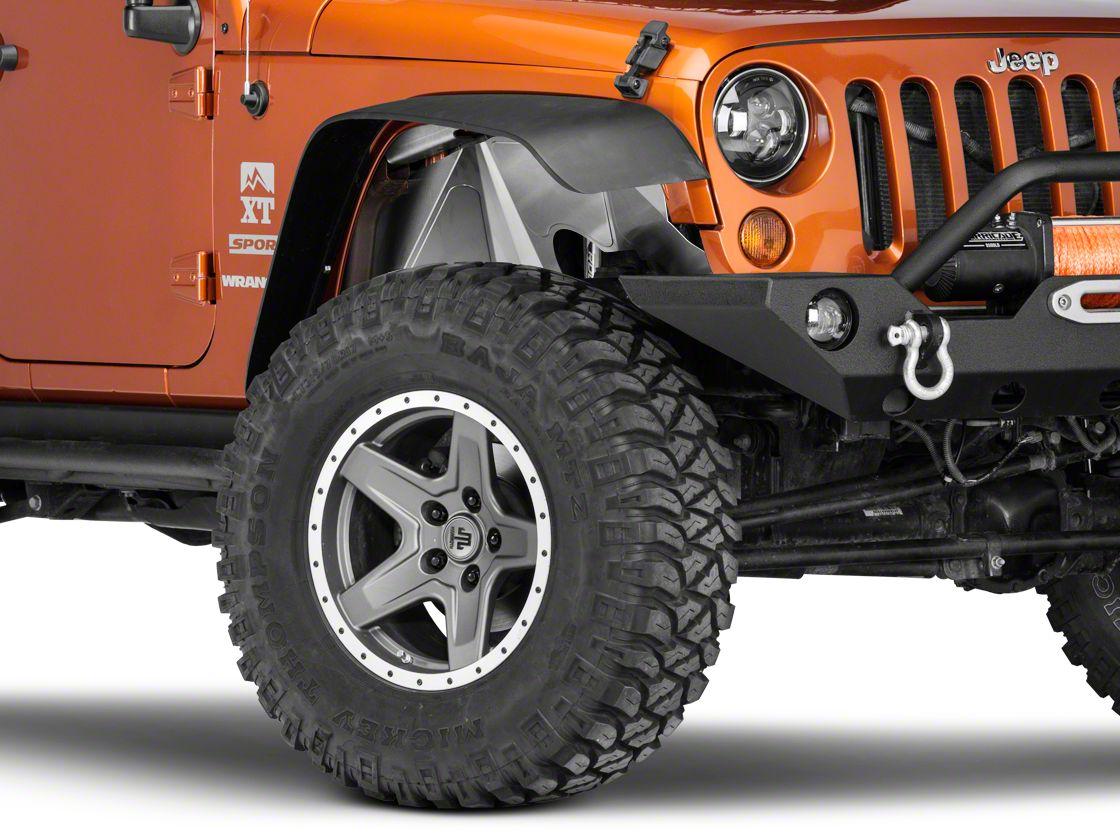 Poison Spyder Front Solid Inner Fenders (07-18 Jeep Wrangler JK)