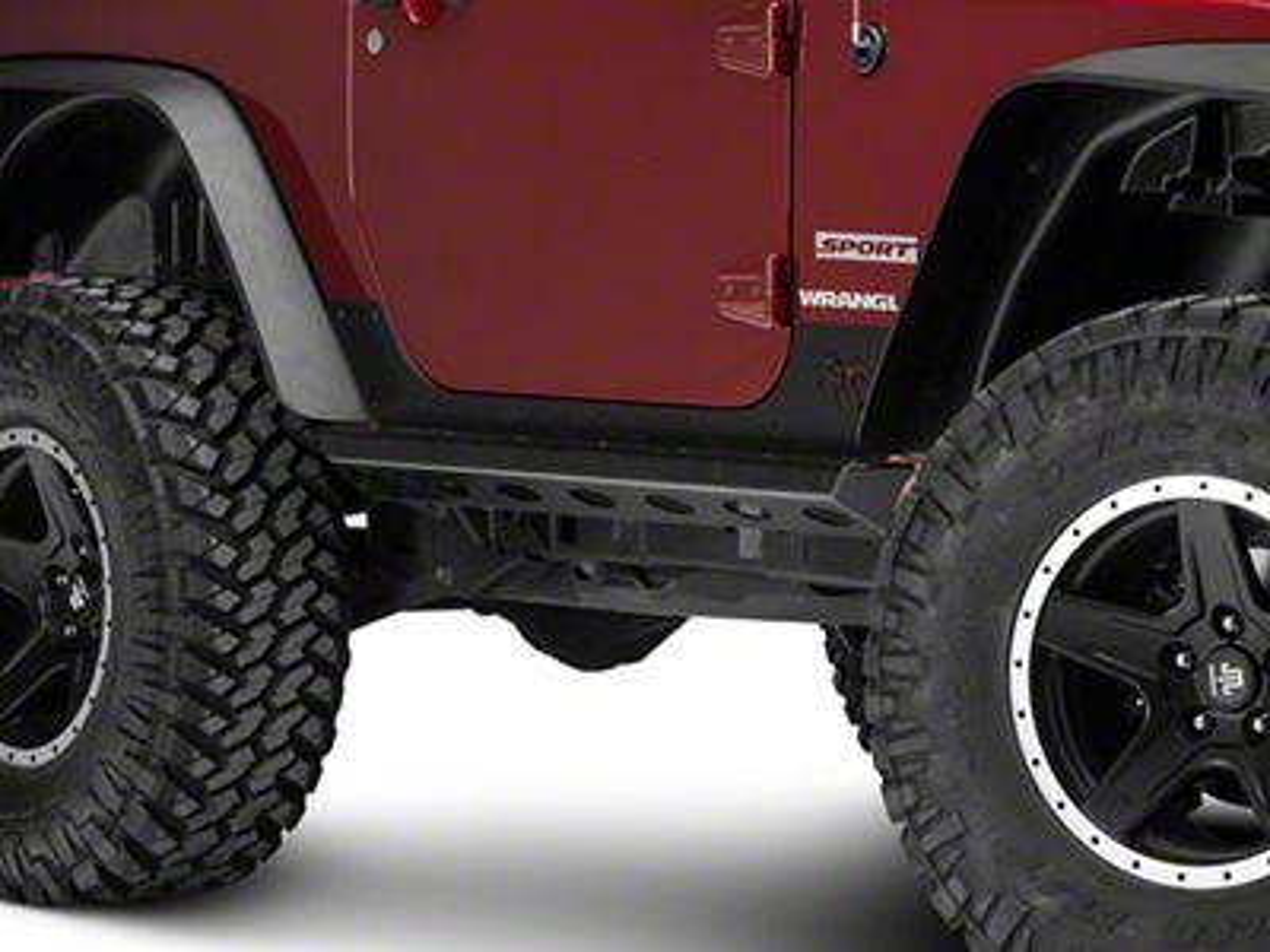 Poison Spyder Brawler Rockers - SpyderShell Armor Coat (07-18 Jeep Wrangler JK)